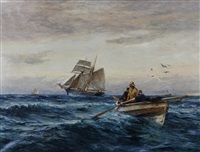 setting her course by robert jobling