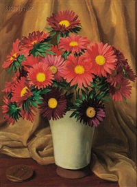 single asters by george laurence nelson