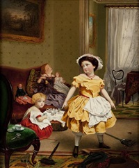 my turn to play mother by sophie anderson