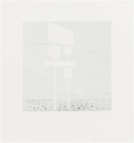 blank signs set of 4 by ed ruscha