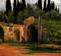 villa adriana (+ villa d'este a tivoli; 2 works) by lorenzo cecconi