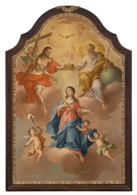 marienkrönung by bartholomäus altomonte