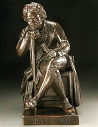 seated beethoven by william wetmore story