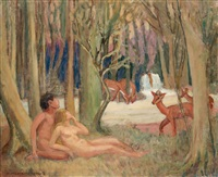 the awakening (edens lustgård) by marguerite thompson zorach