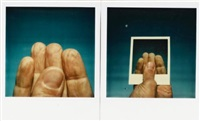 untitled (two hands) (diptych) by william anastasi