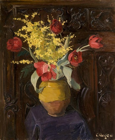 bouquet of flowers by constantine kluge
