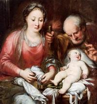 die heilige familie, la sacra famiglia by andrea celesti