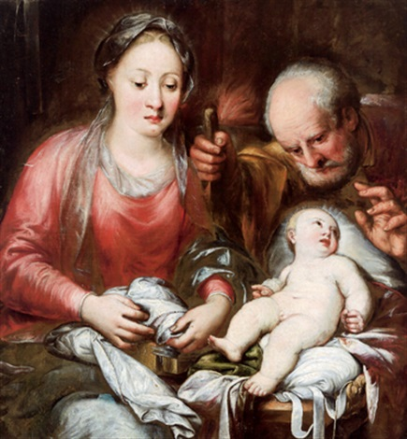 die heilige familie la sacra famiglia by andrea celesti