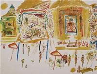 odalan (temple festival) by rusli