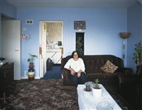 residents of cedar court (from holly street tower block project series) by tom hunter