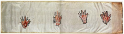 untitled (hands) by kiki smith