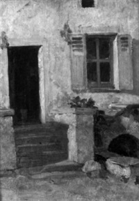 sketch of a doorway by frederick porter vinton