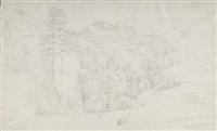 lauterbrunnental mit dem jungfraugebirge by august lucas