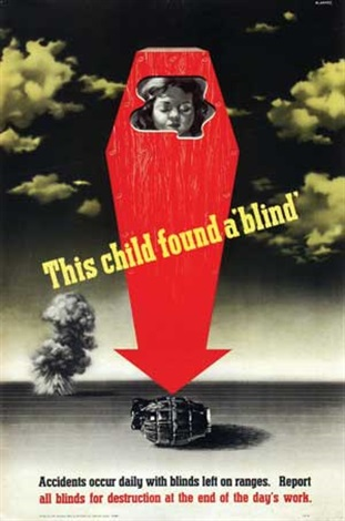 this child found a blind by abram games
