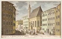 entwurf der st. sebastians kürchen zu salzburg by franz anton danreiter