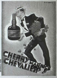 cherry maurice chevalier by r. de valerio