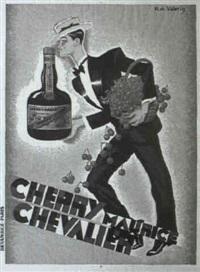 cherry maurice chevalier by r. de valerio