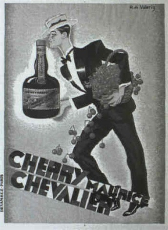 cherry maurice chevalier by r de valerio