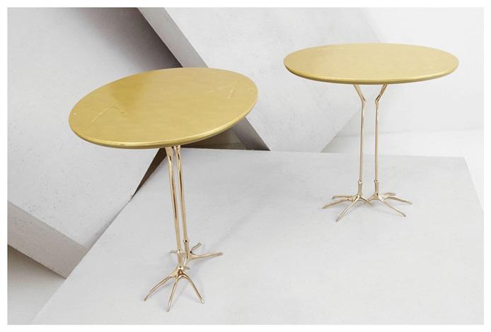 tavolino traccia by meret oppenheim