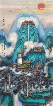 五台圣境图 by ji ren