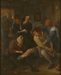 the village surgeon by jan steen