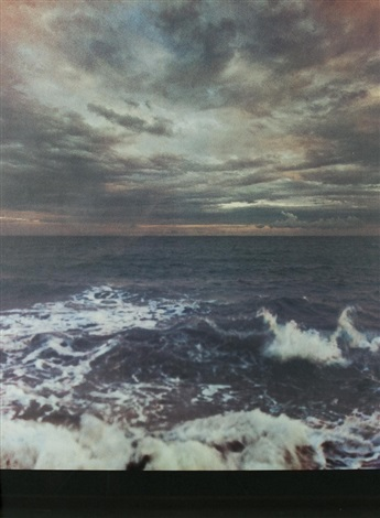 seascape ii by gerhard richter