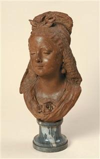 buste de femme by antoine joseph van rasbourg