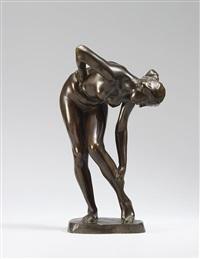 badende (kleinere version) by wilhelm lehmbruck