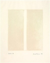canto i (from 18 cantos) by barnett newman