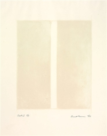 canto i from 18 cantos by barnett newman