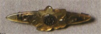 brosche blüte by georges pierre