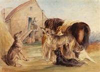 prima della caccia by henry parsons riviere