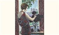 fenêtre sur notre-dame by francois batet