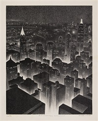 manhattan midnight by ellison hoover