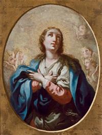 madonna mit engeln by bartholomäus altomonte