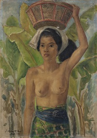 balinese girl by julius wentscher