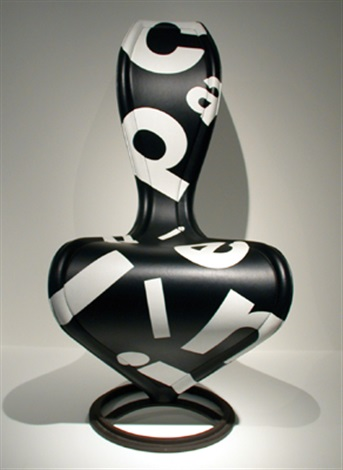s chair limited editionblack by tom dixon