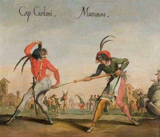 cap cardoni et maramao by jacques callot