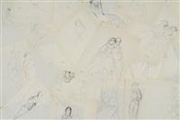 études pour nana (émile zola, 1933) (71 works) by marcel vertès