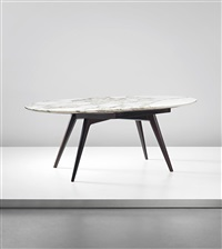 dining table, private commission from casa galli, milan by ico parisi