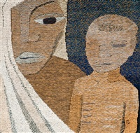 a mother and son by dora jung