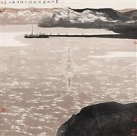 黄河两岸 by bai gengyan