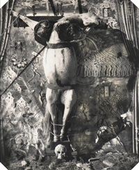 crucified horse, new-mexico by joel-peter witkin