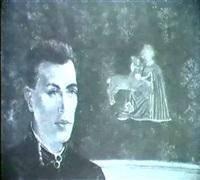portrait d'hubert de saint senoch by nora auric