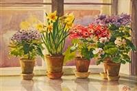 flowering plants by olga aleksandrovna (princess of storfyrstinde)