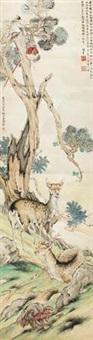 寿禄同春 by liu kuiling