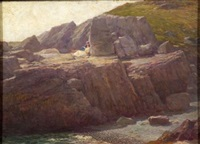 maine coast, ogunquit by william henry lippincott