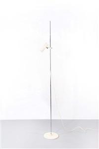 lampada da terra 1055/sp by gino sarfatti