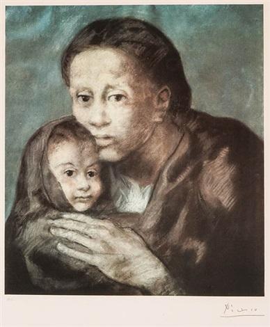Maternité Czwiklitzer 231 by Pablo Picasso on artnet