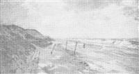 strand (sylt?) by georg lemm